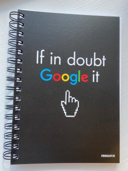 If in doubt Google it - Notebook